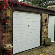 Exterior Garage Painting